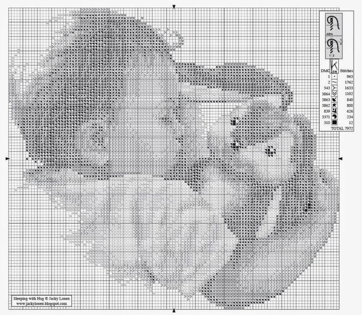 Exceptionnel Oltre 25 fantastiche idee su Punto croce bambino su Pinterest  RX13