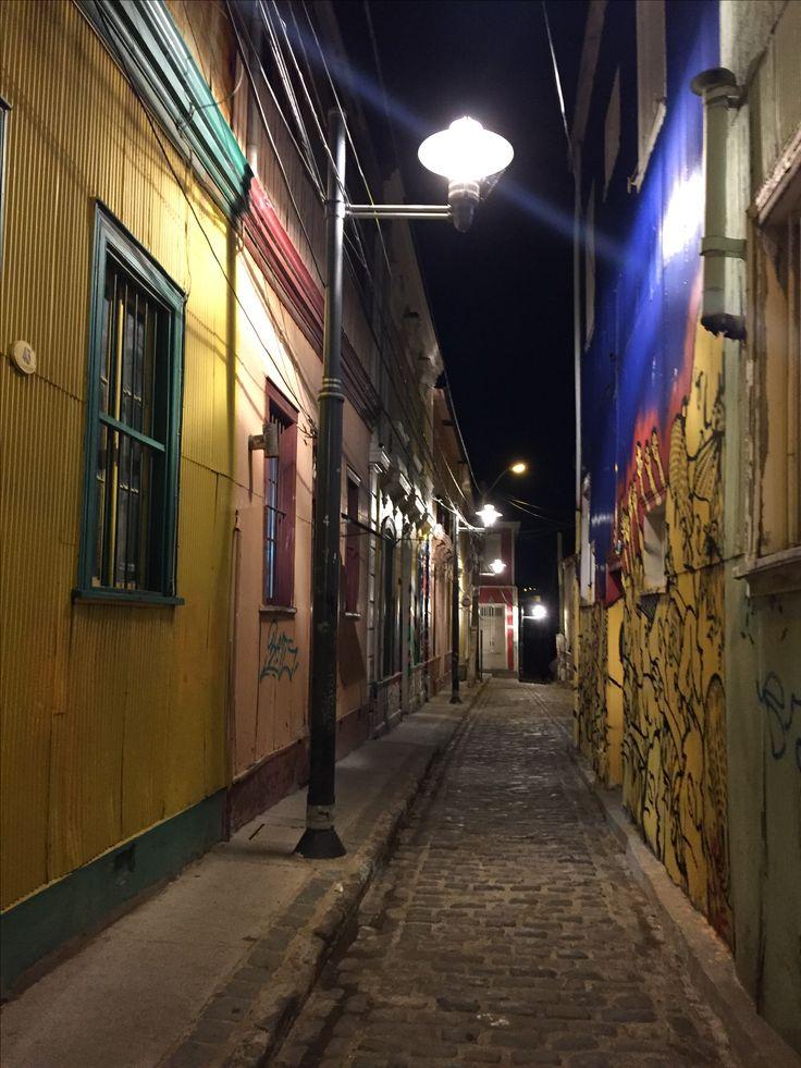 Pasajes de Valparaíso, Chile