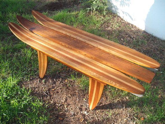 Vintage Water Ski Coffee Table by jamesrobinson on Etsy, $545.00