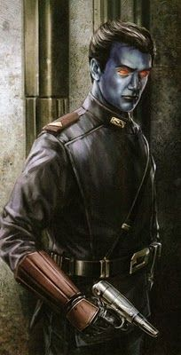 """#GetThrawnIn #KissAChiss Get the Chiss recognized by Disney in Star Wars Rebels. """"Playable Species of SW:TOR – Chiss"""""""