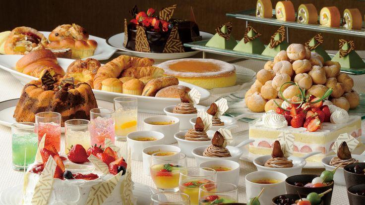 シェラトン・グランデ・トーキョーベイ・ホテルのデザートブッフェのご案内。