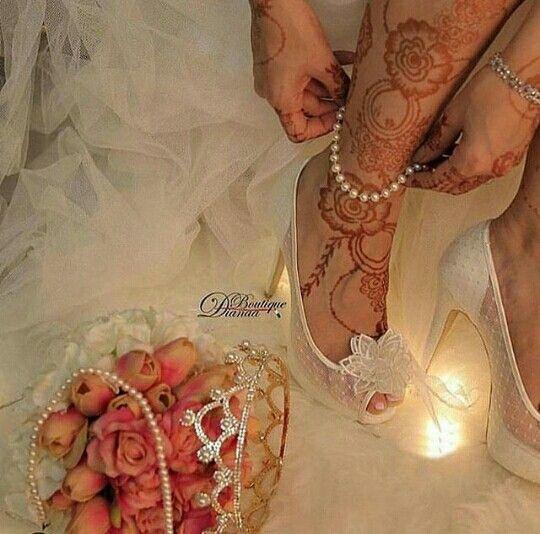 Brides henna design