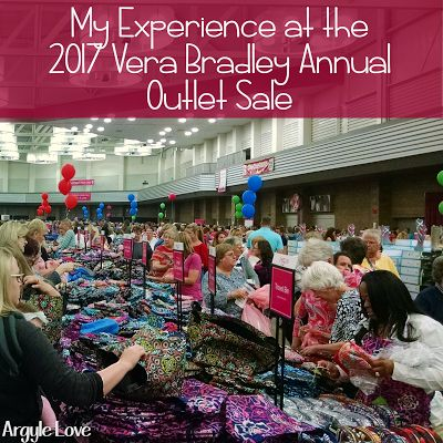 Argyle Love: My Experience at the 2017 Vera Bradley Annual Outlet Sale