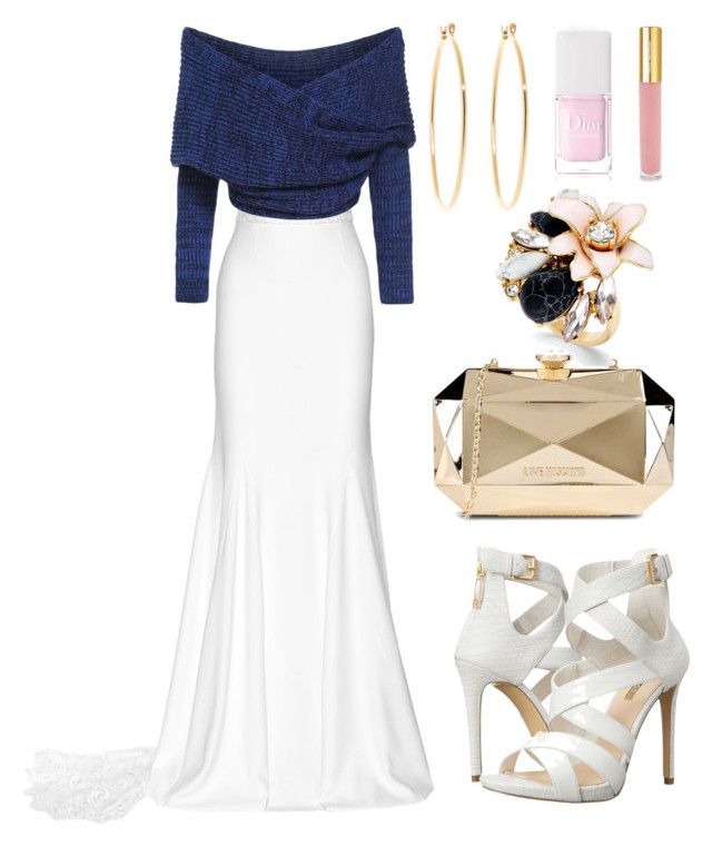 """""""Cute Elegant Look 2015"""" by diamondanna ❤ liked on Polyvore featuring Rime Arodaky, Brooks Brothers, GUESS, Love Moschino, Kate Spade, Isaac Mizrahi and Christian Dior"""