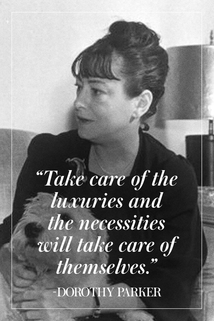 11 Pearls of Wisdom From Dorothy Parker