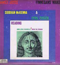 Siobhan McKenna & Cyril Cusack – James Joyce – Finnegans Wake – Caedmon TC 1086