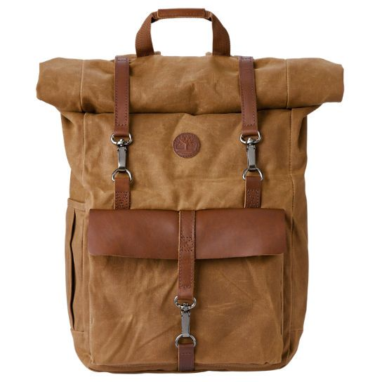 Timberland | Walnut Hill 24-Liter Water-Resistant Roll-Top Backpack
