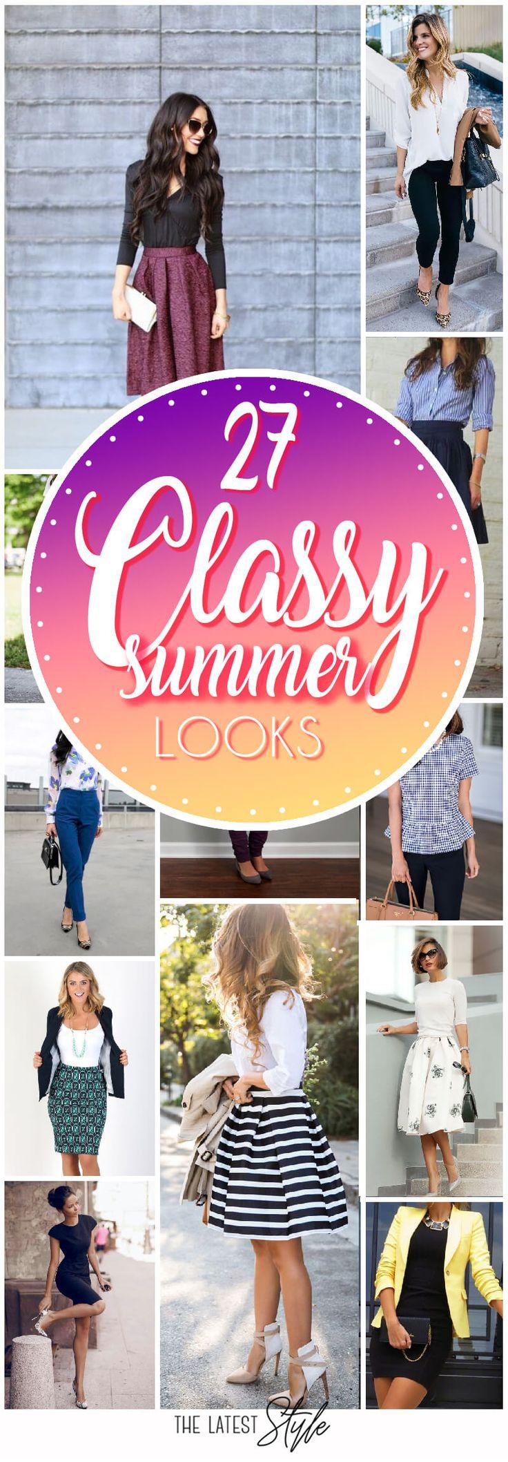 Best 25+ Elegant Summer Outfits Ideas On Pinterest