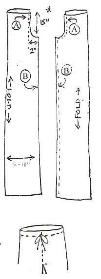 How To Make Stilt Pants