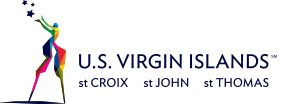 """U.S. Virgin Islands - """"The U.S. Virgin Islands is located in the eastern Caribbean, just 1,100 miles southeast of Miami. Surrounded by the clear blue waters of the Caribbean, our average temperature ranges from 77°F in the winter to 83°F in the summer."""""""