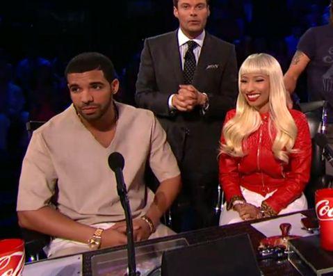 "Nicki Minaj Says ""Drake Is A Sweetheart"" For Coming On American Idol (Video)"
