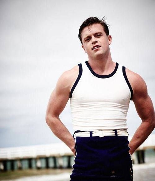 "From Phrynerobinson@tumblr.com"" Hugo Johnstone-Burt as Hugh Collins, Miss Fisher's Muder Mysteries."