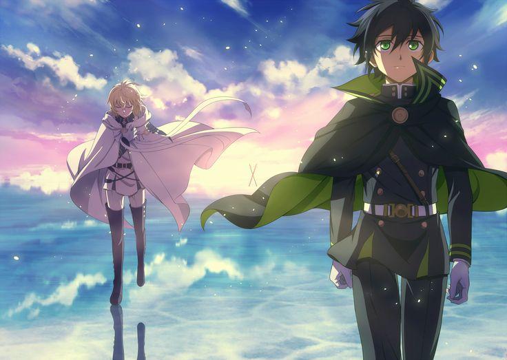 Owari no Seraph / Seraph of the End - Hyakuya Mikaela & Yuuichirou / Mika & Yuu by FCC on pixiv