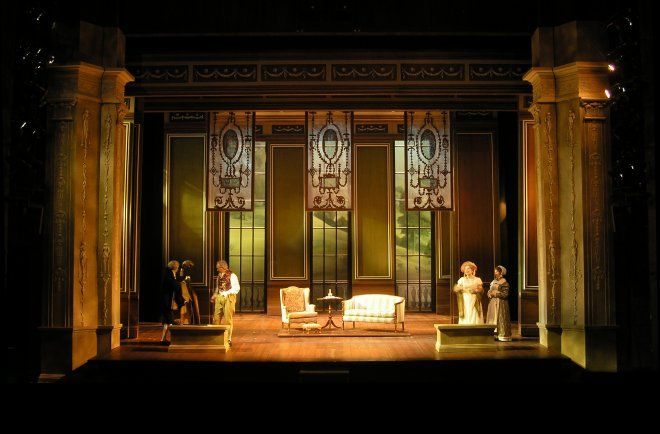 Emma Cleveland Play House Scenic Design By Robert Mark