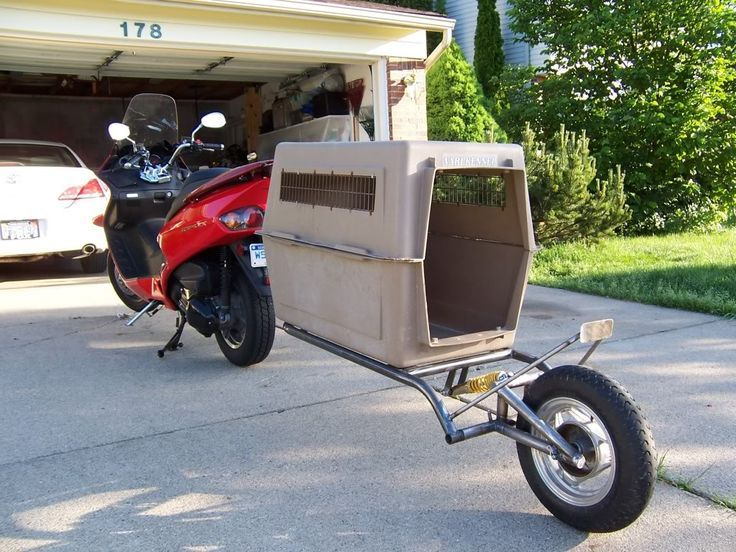 Pull Behind Motorcycle Trailer 32
