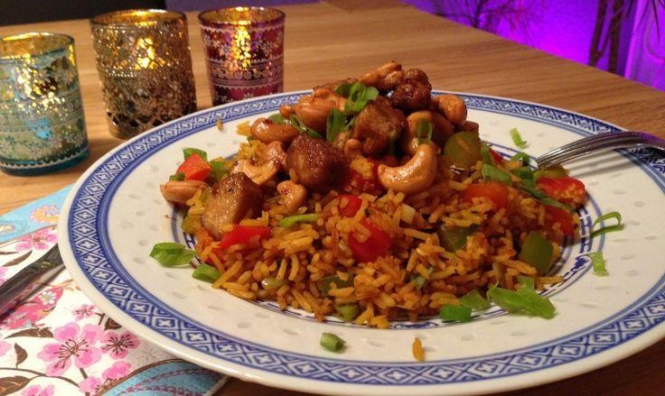Kung Pao met frisse nasi en kip | Wessalicious