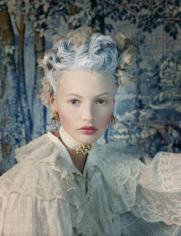 Juan Gatti - Photographers - Editorial - Vogue Espana Maria Antonieta | Michele Filomeno