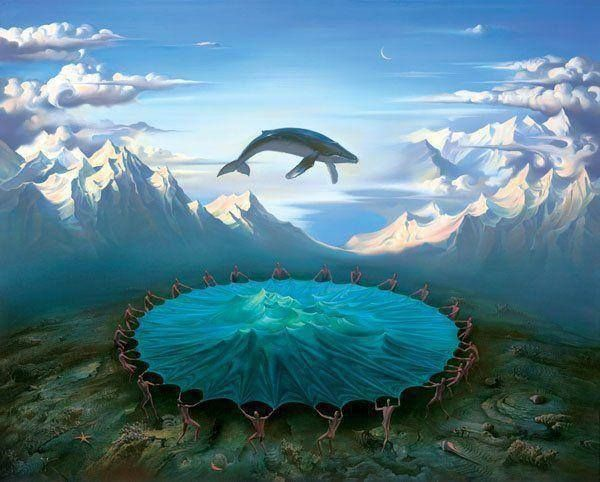 There are many theories about a land called Lemuria, Pacifica, or Mu. Most of what is written about Lemuria is metaphoric - linking to the patterns of creation and sacred geometry. It is about spiraling consciousness that moves from higher frequencies of thought - a higher harmonic - to slower - lower frequencies as we experiencing many places at the same time.