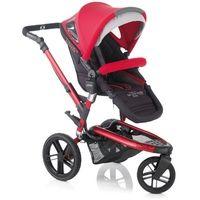 Jane Trider Extreme 3 Wheel Pushchair 2013 Deep Red £539.49