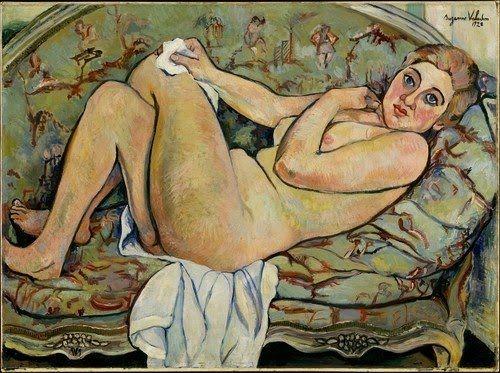"""Reclining Nude"", 1928 Suzanne Valadon Oil on canvas"