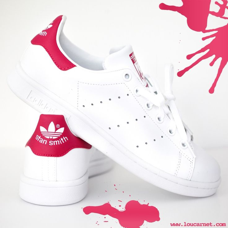 adidas stan smiths in pink