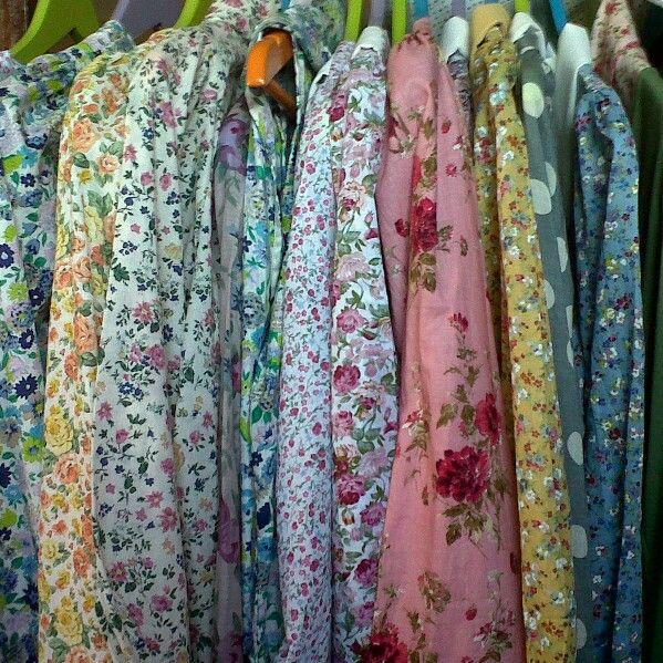 Vintage blouse, pin bb 758C8C80