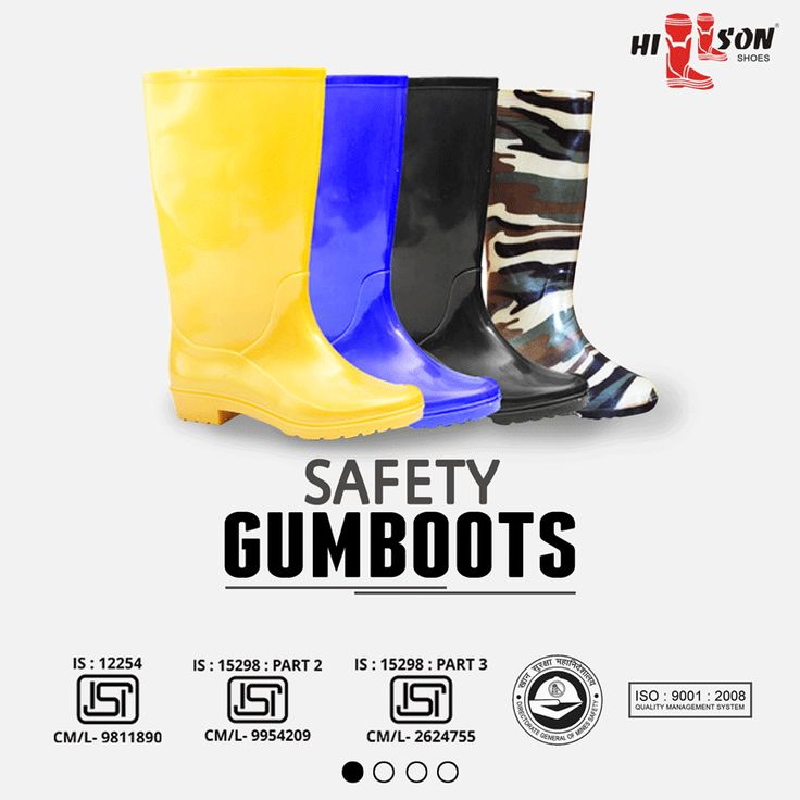 Providing high quality safety gumboots with isi mark