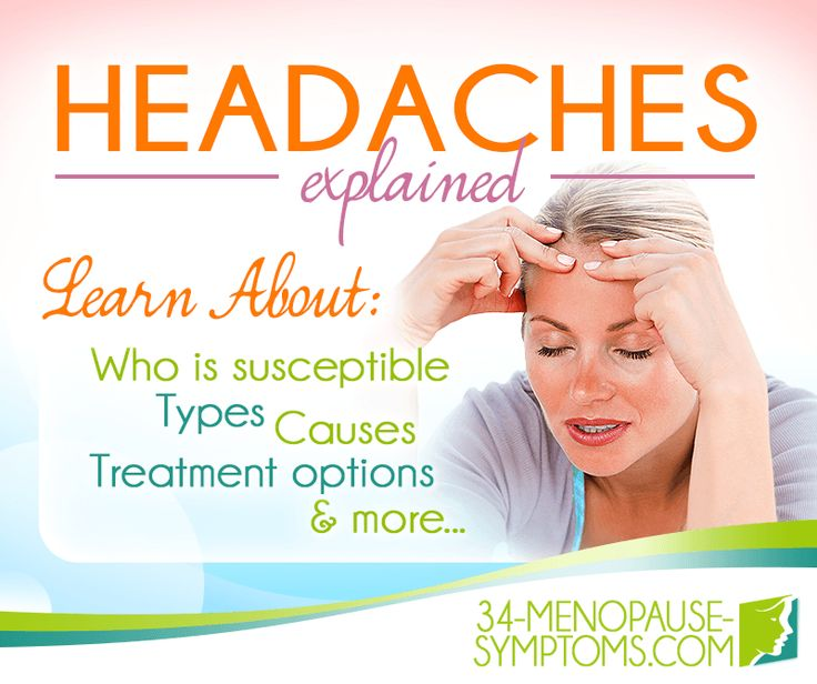 Migraines, tension headaches - 'pain in the brain' can appear all too frequently during the menopausal transition. Fortunately, there are ways to manage this common symptom.