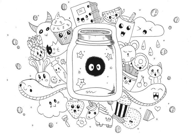 coloriage-kawaii-licorne-a-imprimer-fantastique-plan-kawaii-doodle-rachel-of-coloriage-kawaii ...