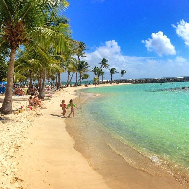St Anne Beach - Guadeloupe. Loved this beach with Lori and Scott P years ago--so many good memories !!