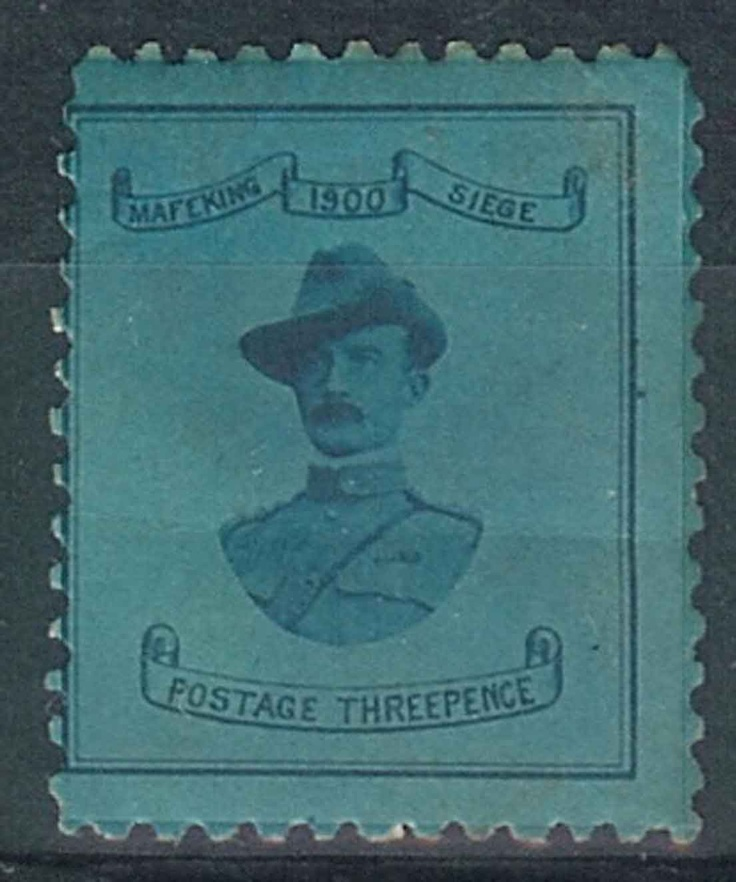 Mafeking Threepence Stamp - Baden Powell