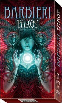 The Barbieri Tarot looks exquisite from the box - would love to take a look inside.  <3 <3 <3 http://www.silvermoonreiki.co.uk/