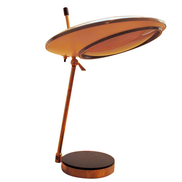 A table lamp by Oscar Torlasco for Lumi | From a unique collection of antique and modern table lamps at https://www.1stdibs.com/furniture/lighting/table-lamps/
