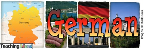 Basic German PowerPoints and smart board files