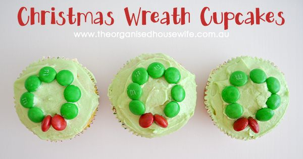 Yummy Christmas Wreath cakes!