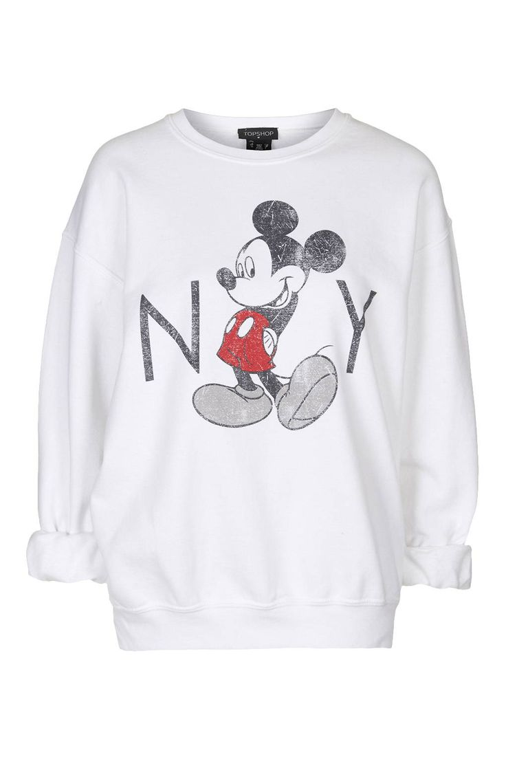 Vintage Mickey Mouse Sweatshirt - New In This Week - New In - Topshop