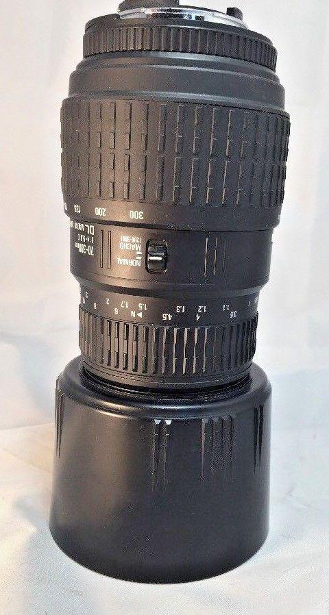 Sigma 70-300mm F4-5.6 DL Macro Super Lens for Nikon Digital Cameras #Sigma