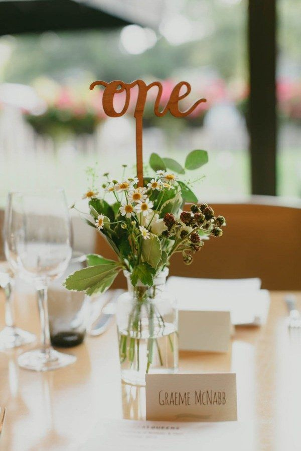 40 reception table numbers we absolutely adore