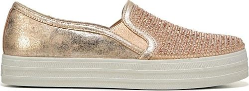 a1bc61083c54 Skechers Women s Shoes in Rose Gold Color. Get your groove going with the Skecher  Street - Shiny Dancer Slip On Sneaker fr…