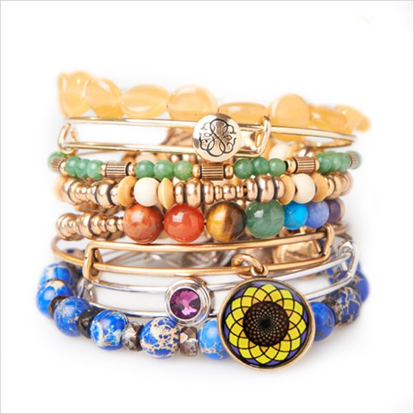 Check out the new sunflower bangle!