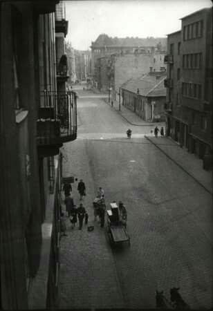 1940 körül, Kintornás az Újlipótvárosban