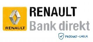 Das Logo der Renault Bank direkt