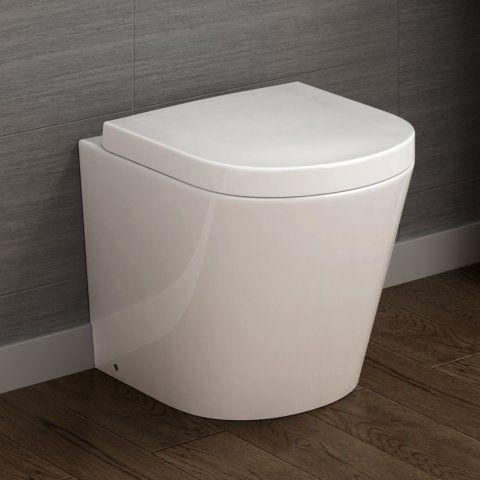 Lyon Back to Wall Toilet inc Luxury Soft Close Seat