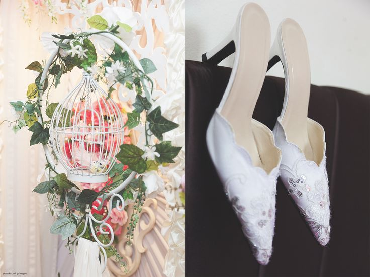 Kitty's wedding shoes
