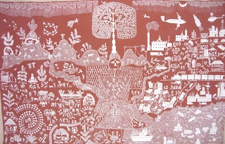 Tribal Addiwashi warli art