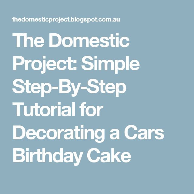 17 Best ideas about Car Birthday Cakes on Pinterest ...