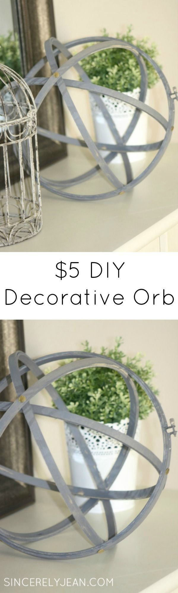 Diy Decorative Orb Beautiful Homesdiy