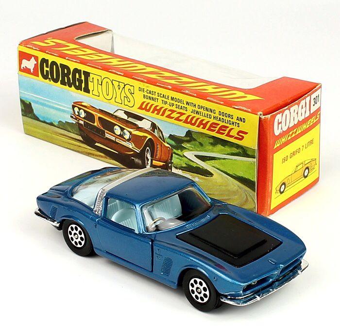 Corgi Toys 301 - Iso Grifo w/red spot
