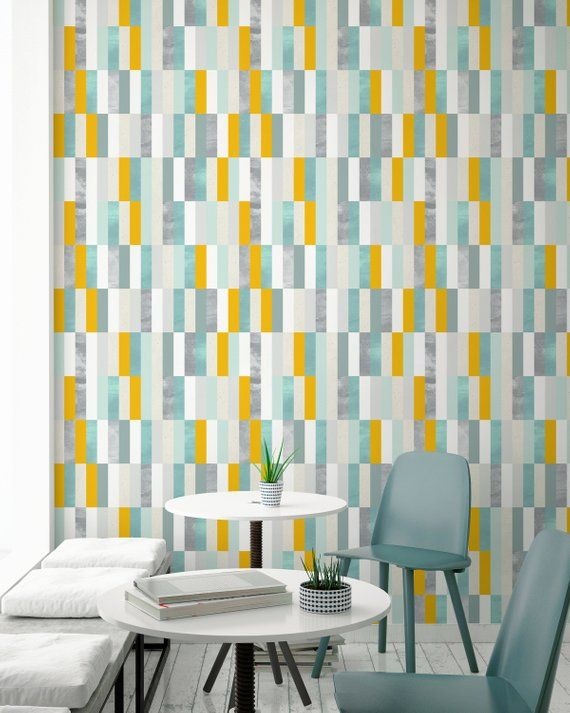 Removable Wallpaper Peel And Stick Wallpaper Wall Paper Wall Etsy Azulejos