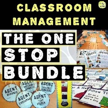 Classroom Management One Stop Bundle